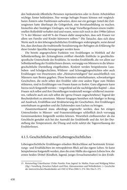 Image of the Page - 430 - in Erzählen vom Leben im 20. Jahrhundert - Erinnerungspraxis und Erzähltraditionen in lebensgeschichtlichen Interviews am Beispiel der Region Montafon/Vorarlberg