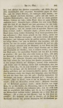 Bild der Seite - 203 - in Legenden der Heiligen auf alle Tage des Jahres - Die Herrlichkeit der katholischen Kirche, dargestellt in den Lebensbeschriebungen der Heiligen Gottes, Band 1