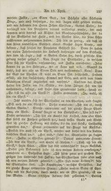 Bild der Seite - 227 - in Legenden der Heiligen auf alle Tage des Jahres - Die Herrlichkeit der katholischen Kirche, dargestellt in den Lebensbeschriebungen der Heiligen Gottes, Band 1