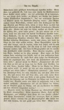 Bild der Seite - 249 - in Legenden der Heiligen auf alle Tage des Jahres - Die Herrlichkeit der katholischen Kirche, dargestellt in den Lebensbeschriebungen der Heiligen Gottes, Band 1