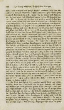 Bild der Seite - 344 - in Legenden der Heiligen auf alle Tage des Jahres - Die Herrlichkeit der katholischen Kirche, dargestellt in den Lebensbeschriebungen der Heiligen Gottes, Band 1