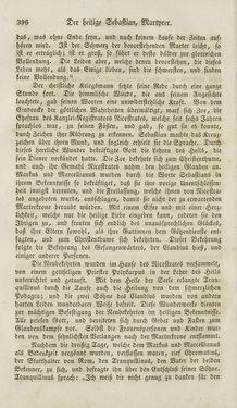 Bild der Seite - 396 - in Legenden der Heiligen auf alle Tage des Jahres - Die Herrlichkeit der katholischen Kirche, dargestellt in den Lebensbeschriebungen der Heiligen Gottes, Band 1