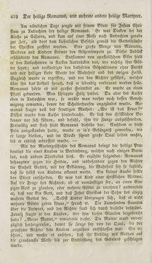 Bild der Seite - 452 - in Legenden der Heiligen auf alle Tage des Jahres - Die Herrlichkeit der katholischen Kirche, dargestellt in den Lebensbeschriebungen der Heiligen Gottes, Band 1