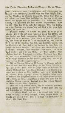 Bild der Seite - 492 - in Legenden der Heiligen auf alle Tage des Jahres - Die Herrlichkeit der katholischen Kirche, dargestellt in den Lebensbeschriebungen der Heiligen Gottes, Band 1