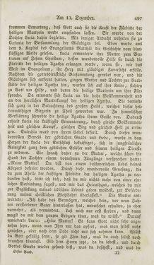 Image of the Page - 497 - in Legenden der Heiligen auf alle Tage des Jahres - Die Herrlichkeit der katholischen Kirche, dargestellt in den Lebensbeschriebungen der Heiligen Gottes, Volume 1