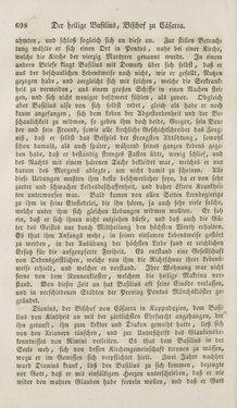 Bild der Seite - 698 - in Legenden der Heiligen auf alle Tage des Jahres - Die Herrlichkeit der katholischen Kirche, dargestellt in den Lebensbeschriebungen der Heiligen Gottes, Band 1