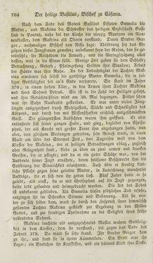 Image of the Page - 704 - in Legenden der Heiligen auf alle Tage des Jahres - Die Herrlichkeit der katholischen Kirche, dargestellt in den Lebensbeschriebungen der Heiligen Gottes, Volume 1