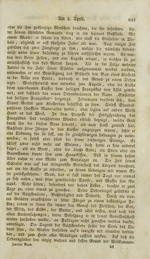 Bild der Seite - (000643) - in Legenden der Heiligen auf alle Tage des Jahres - Die Herrlichkeit der katholischen Kirche, dargestellt in den Lebensbeschriebungen der Heiligen Gottes, Band 2