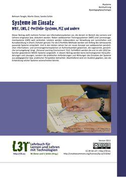 Image of the Page - 147 - in L3T - Lehrbuch für Lernen und Lehren mit Technologien