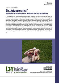Image of the Page - 201 - in L3T - Lehrbuch für Lernen und Lehren mit Technologien