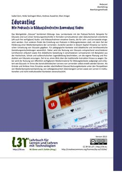 Bild der Seite - 257 - in L3T - Lehrbuch für Lernen und Lehren mit Technologien