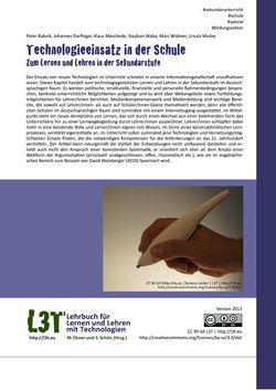 Bild der Seite - 465 - in L3T - Lehrbuch für Lernen und Lehren mit Technologien