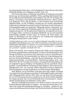 Bild der Seite - 31 - in Lernprozesse über die Lebensspanne - Bildung erforschen, gestalten und nachhaltig fördern