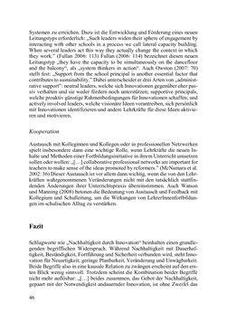 Image of the Page - 46 - in Lernprozesse über die Lebensspanne - Bildung erforschen, gestalten und nachhaltig fördern