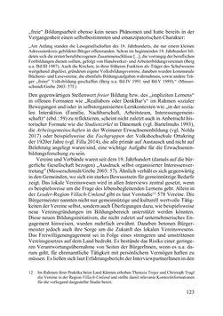 Bild der Seite - 123 - in Lernprozesse über die Lebensspanne - Bildung erforschen, gestalten und nachhaltig fördern