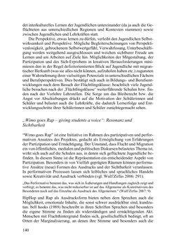Bild der Seite - 140 - in Lernprozesse über die Lebensspanne - Bildung erforschen, gestalten und nachhaltig fördern
