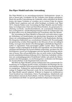 Bild der Seite - 146 - in Lernprozesse über die Lebensspanne - Bildung erforschen, gestalten und nachhaltig fördern