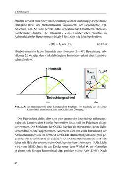 Image of the Page - 40 - in Technologien für das Lichtmanagement in organischen Leuchtdioden
