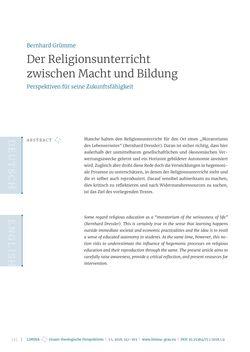 Bild der Seite - 141 - in Limina - Grazer theologische Perspektiven, Band 1:1