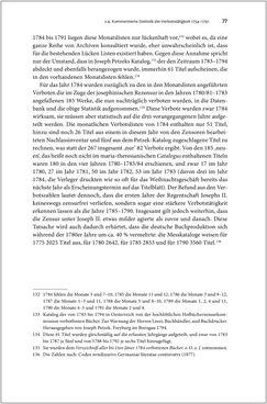 Bild der Seite - 77 - in Die literarische Zensur in Österreich von 1751 bis 1848
