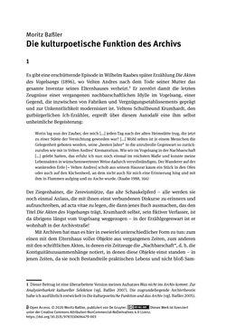 Bild der Seite - 27 - in Logiken der Sammlung - Das Archiv zwischen Strategie und Eigendynamik
