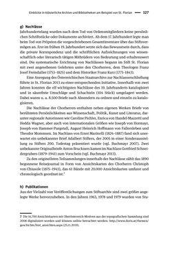 Bild der Seite - 127 - in Logiken der Sammlung - Das Archiv zwischen Strategie und Eigendynamik