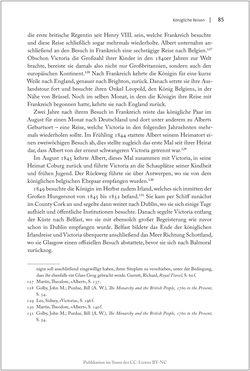 Bild der Seite - 85 - in Die Macht auf dem Gipfel - Alpentourismus und Monarchie 1760–1910
