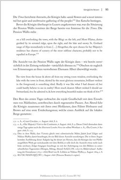Bild der Seite - 95 - in Die Macht auf dem Gipfel - Alpentourismus und Monarchie 1760–1910