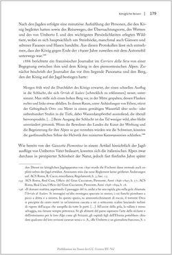 Bild der Seite - 179 - in Die Macht auf dem Gipfel - Alpentourismus und Monarchie 1760–1910