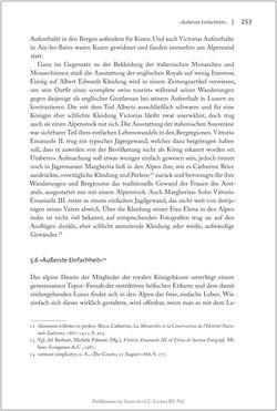 Bild der Seite - 253 - in Die Macht auf dem Gipfel - Alpentourismus und Monarchie 1760–1910