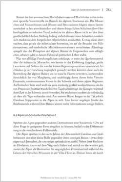 Image of the Page - 261 - in Die Macht auf dem Gipfel - Alpentourismus und Monarchie 1760–1910