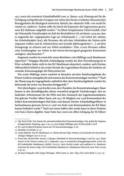 Image of the Page - 217 - in Mauthausen und die nationalsozialistische Expansionsund Verfolgungspolitik, Volume 1