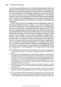 Bild der Seite - 250 - in Mauthausen und die nationalsozialistische Expansionsund Verfolgungspolitik, Band 1