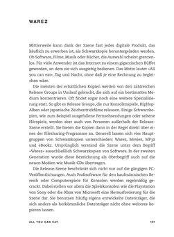 Bild der Seite - 101 - in No Copy - Die Welt der digitalen  Raubkopie
