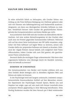 Bild der Seite - 162 - in No Copy - Die Welt der digitalen  Raubkopie