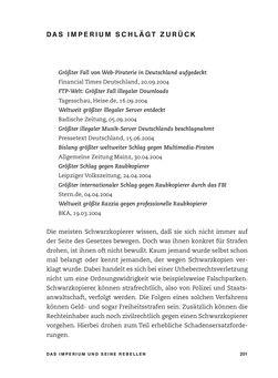 Bild der Seite - 201 - in No Copy - Die Welt der digitalen  Raubkopie