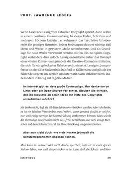 Bild der Seite - 271 - in No Copy - Die Welt der digitalen  Raubkopie