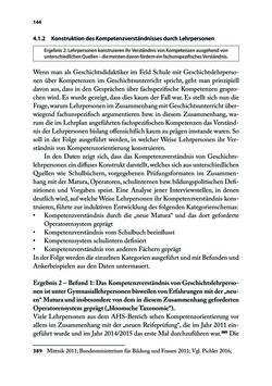 Bild der Seite - 144 - in Von PISA nach Wien - Historische und politische Kompetenzen in der Unterrichtspraxis