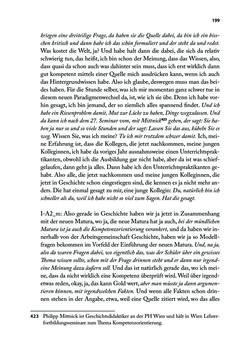 Bild der Seite - 199 - in Von PISA nach Wien - Historische und politische Kompetenzen in der Unterrichtspraxis
