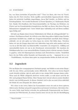 Bild der Seite - 175 - in Reflexionen vor Reflexen - Memoiren eines Forschers