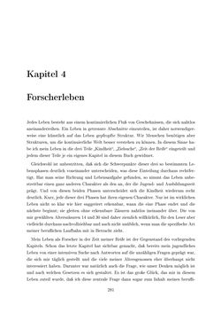 Bild der Seite - 281 - in Reflexionen vor Reflexen - Memoiren eines Forschers