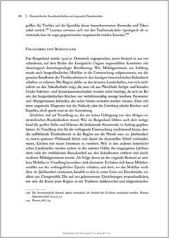 Bild der Seite - 86 - in Sakralmöbel aus Österreich - Von Tischlern und ihren Arbeiten im Zeitalter des Absolutismus, Band II: Kunstlandschaften im Norden, Süden und Westen