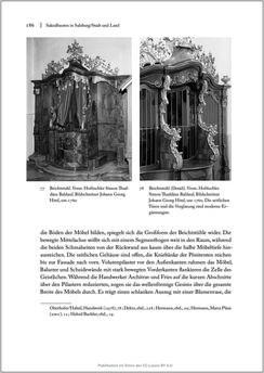Bild der Seite - 186 - in Sakralmöbel aus Österreich - Von Tischlern und ihren Arbeiten im Zeitalter des Absolutismus, Band II: Kunstlandschaften im Norden, Süden und Westen