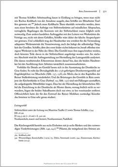 Image of the Page - 371 - in Sakralmöbel aus Österreich - Von Tischlern und ihren Arbeiten im Zeitalter des Absolutismus, Volume II: Kunstlandschaften im Norden, Süden und Westen