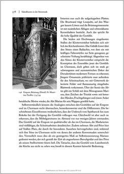 Bild der Seite - 378 - in Sakralmöbel aus Österreich - Von Tischlern und ihren Arbeiten im Zeitalter des Absolutismus, Band II: Kunstlandschaften im Norden, Süden und Westen