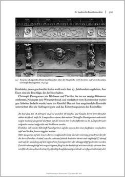 Bild der Seite - 391 - in Sakralmöbel aus Österreich - Von Tischlern und ihren Arbeiten im Zeitalter des Absolutismus, Band II: Kunstlandschaften im Norden, Süden und Westen