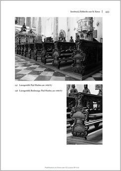 Bild der Seite - 433 - in Sakralmöbel aus Österreich - Von Tischlern und ihren Arbeiten im Zeitalter des Absolutismus, Band II: Kunstlandschaften im Norden, Süden und Westen