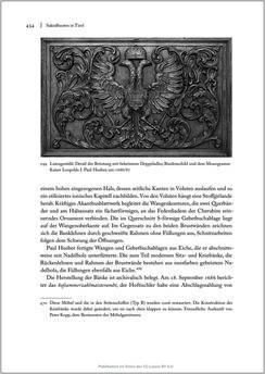 Bild der Seite - 434 - in Sakralmöbel aus Österreich - Von Tischlern und ihren Arbeiten im Zeitalter des Absolutismus, Band II: Kunstlandschaften im Norden, Süden und Westen