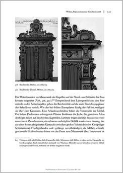 Bild der Seite - 521 - in Sakralmöbel aus Österreich - Von Tischlern und ihren Arbeiten im Zeitalter des Absolutismus, Band II: Kunstlandschaften im Norden, Süden und Westen