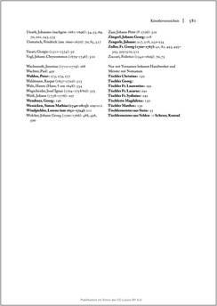 Bild der Seite - 581 - in Sakralmöbel aus Österreich - Von Tischlern und ihren Arbeiten im Zeitalter des Absolutismus, Band II: Kunstlandschaften im Norden, Süden und Westen